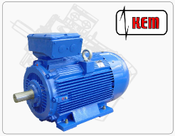 Standard three-phase low-voltage electric motors and generators with short-circuit armature